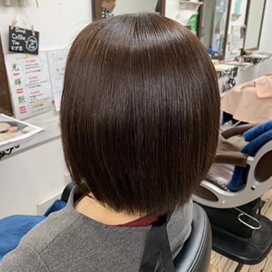 うるツヤ髪質改善☆触りたくなるふんわりかわいいボブスタイル